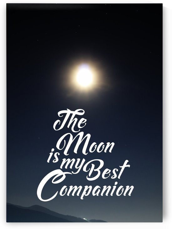 The Moon is Best Companion by Artistic Paradigms