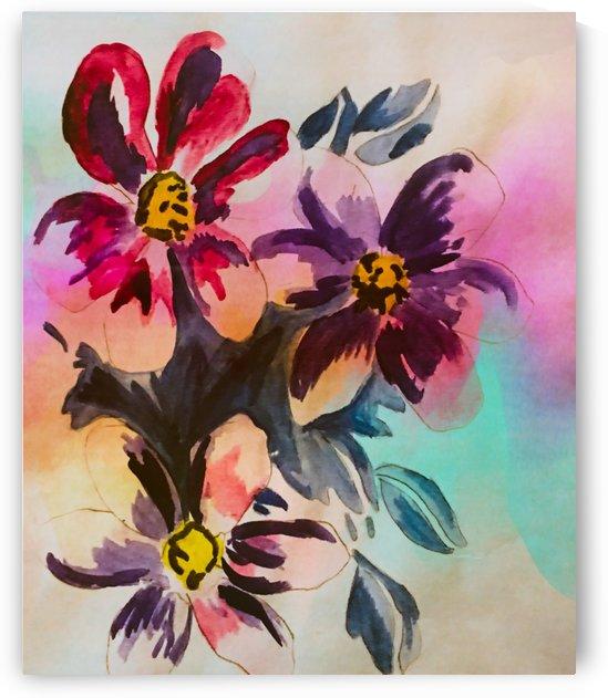 Floral Magic in Colors by GaleriaGrupoArte