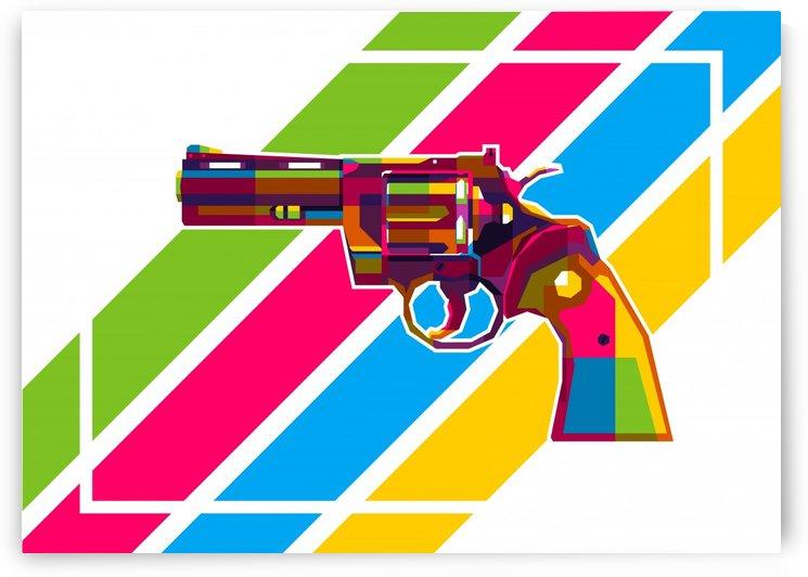 Python Handgun by wpaprint