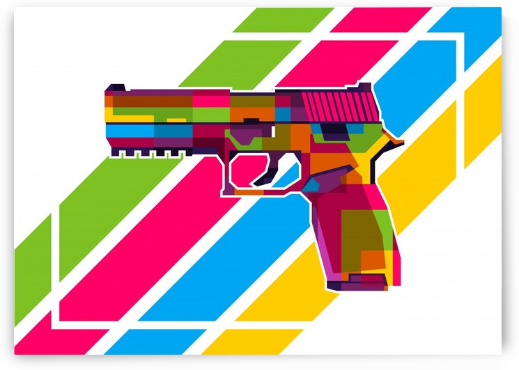 SIG P250 Handgun by wpaprint
