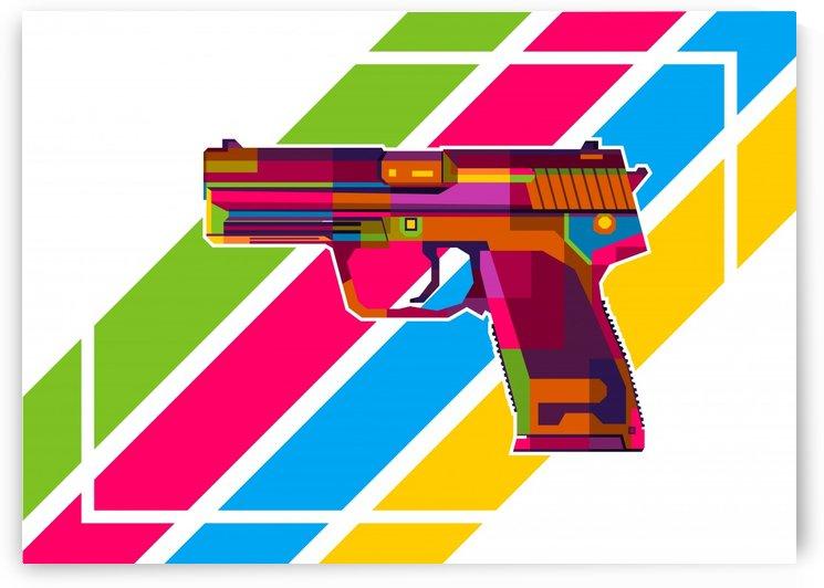 Heckler and Koch USP Handgun by wpaprint