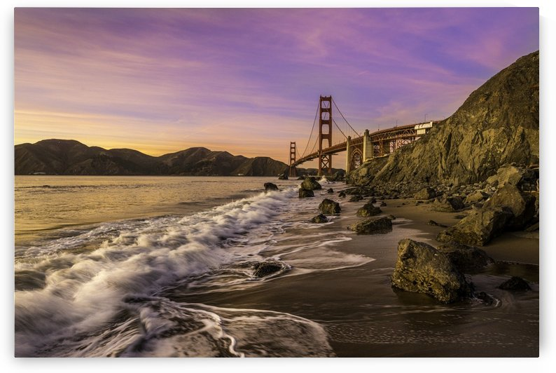 Golden Gate Sunset by Sebastian Dietl