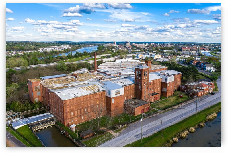 Kings Mill Augusta Aerial View 0457 by @ThePhotourist