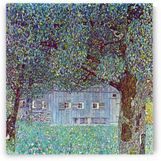 Farmhouse in Upper Austria by Klimt by Klimt