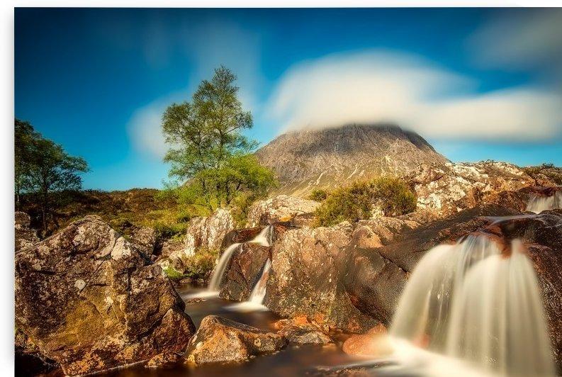 scotland highlands mountain hill by Shamudy