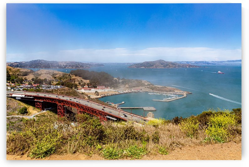 Golden Gate Bridge and Horseshoe Bay 1789 by @ThePhotourist