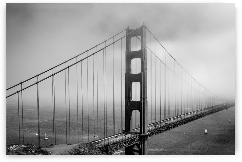 Golden Gate Bridge Disappearing into the Fog 1782 by @ThePhotourist