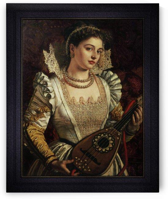 Bianca by William Holman Hunt by xzendor7
