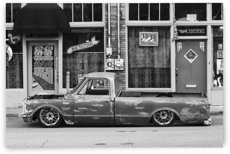 C10 parked  by Lindsay Warren