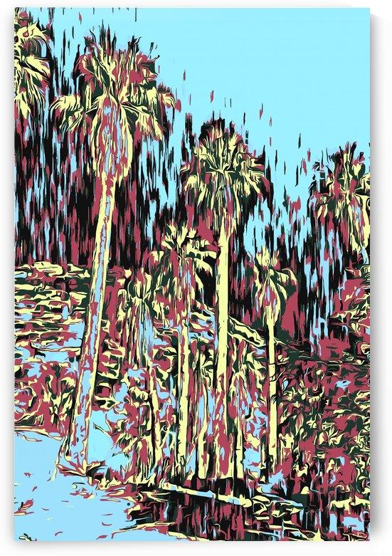 Palms Impresso Two by Jarmila Kostliva Studio