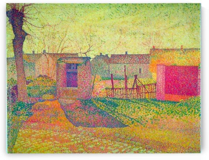 Farmyard by Delavallee by Delavallee