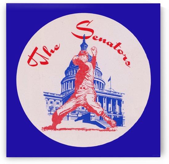 1950s Washington Senators Art Reproduction by Row One Brand