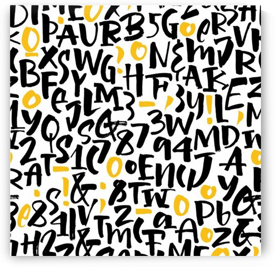 letters pattern by Shamudy