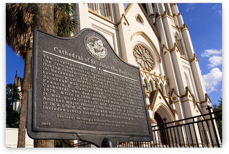 Cathedral of St. John the Baptist   Savannah 03360 by @ThePhotourist