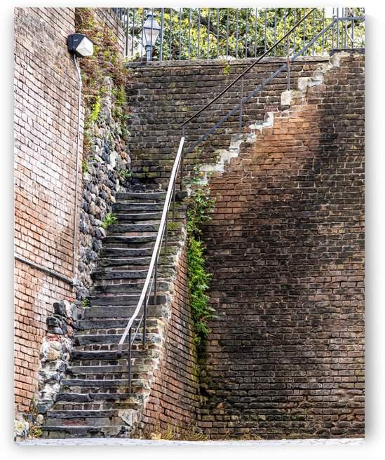 Stairs at River Street   Savannah 04114 by @ThePhotourist