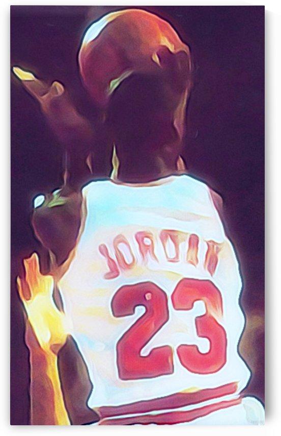 Michael Jordan Fine Art Print by Row One Brand