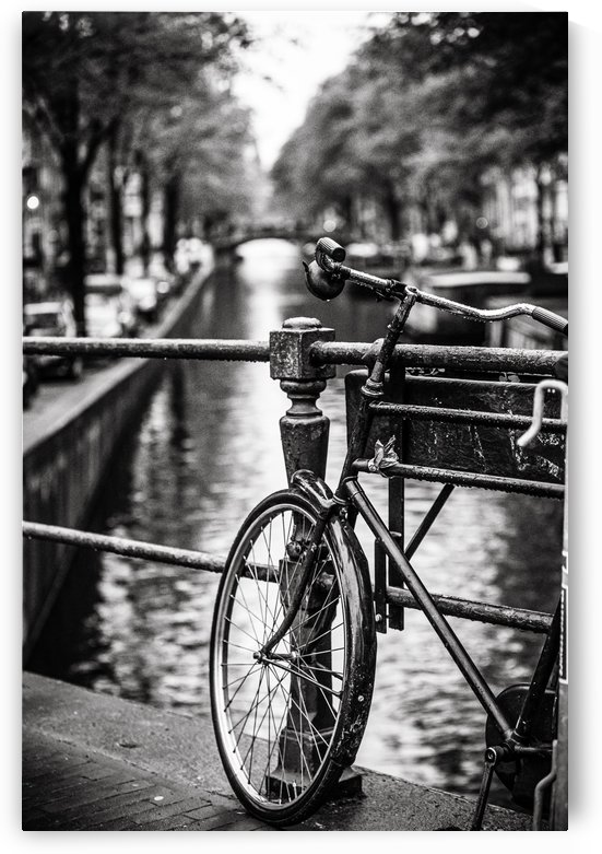 Amsterdam in a raining day by Sebastian Dietl