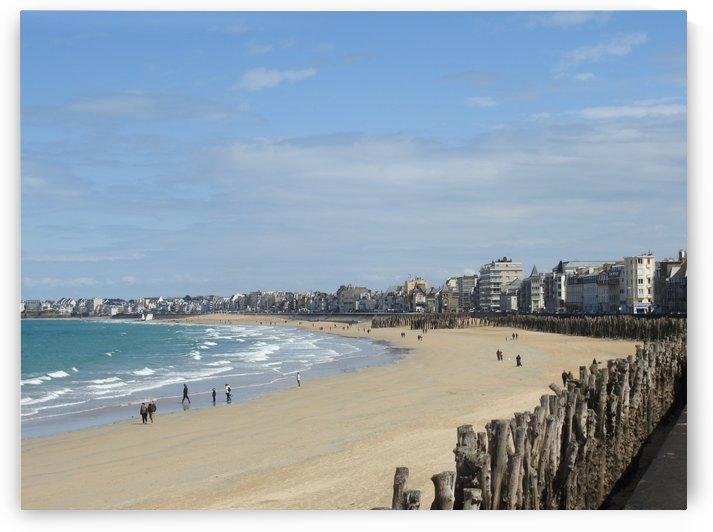 beach Saint Malo Bretagne by James Cool