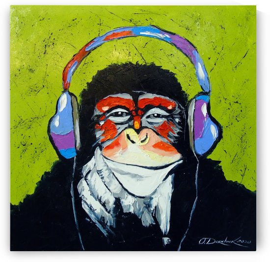 Music lover by Olha Darchuk