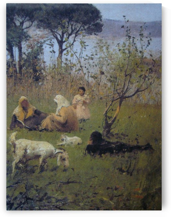 Picnic by Amadeo Preziosi