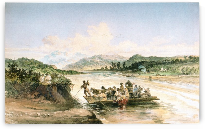 River Olt by Amadeo Preziosi
