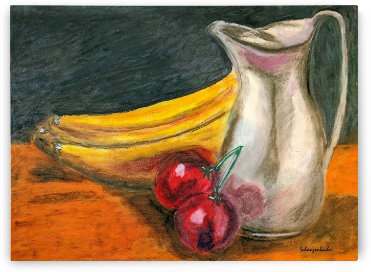 Fruit for Lunch by Aurelia Schanzenbacher Sisters Fine Arts
