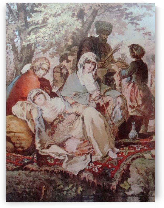 Ottoman People by Amadeo Preziosi