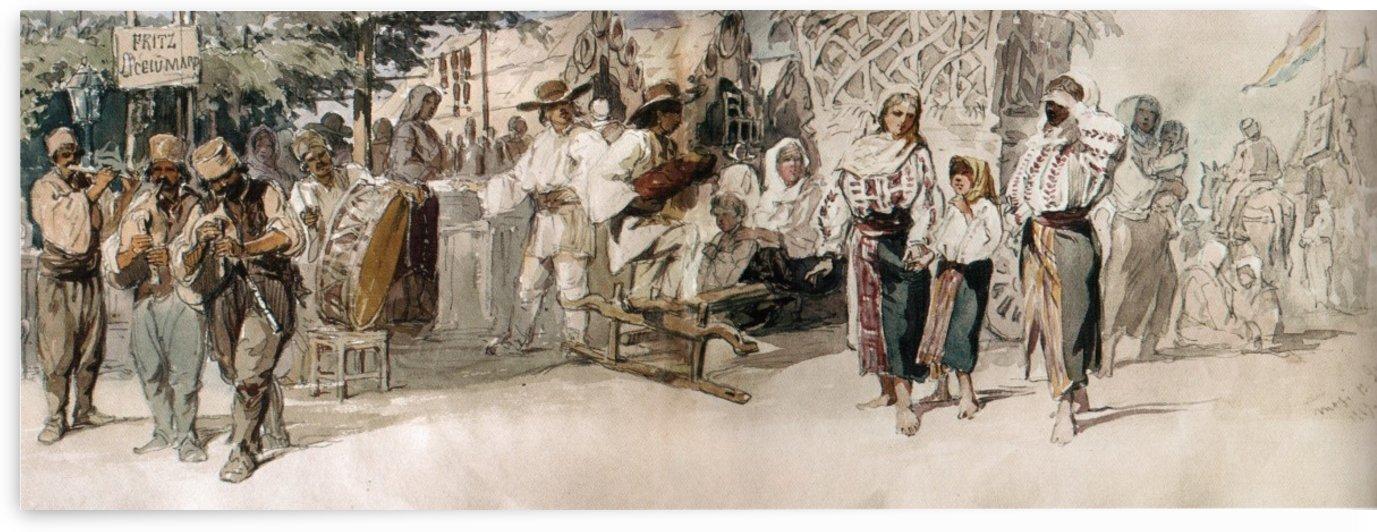 Elders Celebration by Amadeo Preziosi