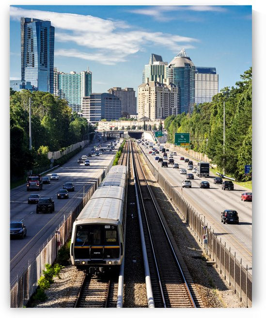 Buckhead Skyline   Atlanta GA 7349 by @ThePhotourist
