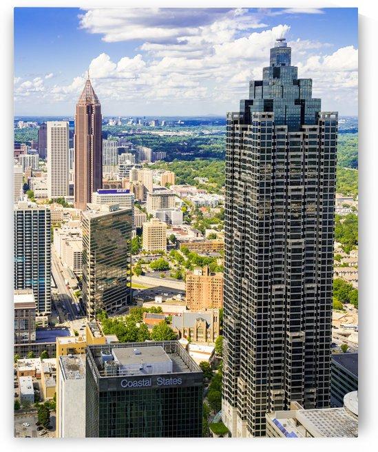 Downtown Atlanta GA Aerial View 6790 by @ThePhotourist