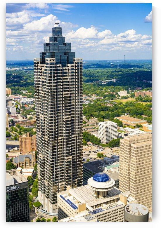 Downtown Atlanta GA Aerial View   Suntrust Plaza 6786 by @ThePhotourist