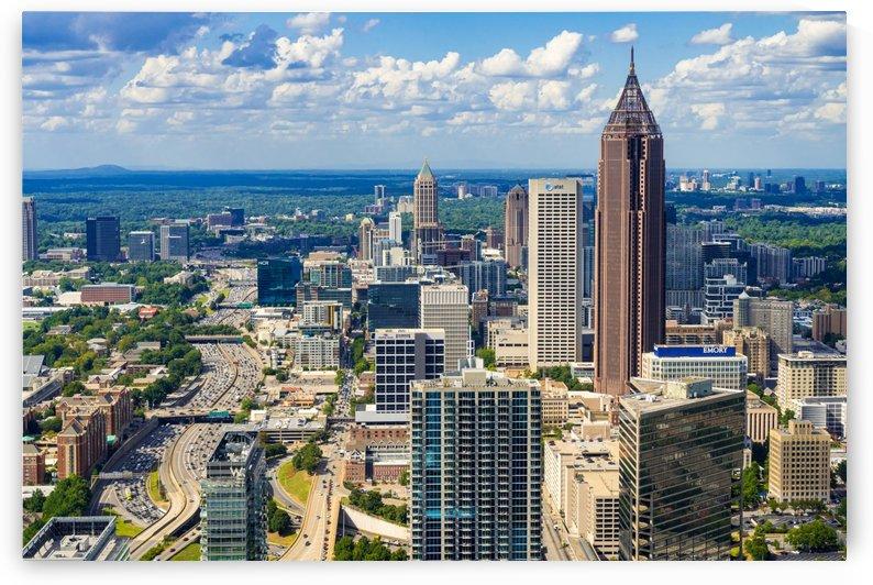 Downtown Atlanta GA Aerial View 7033 by @ThePhotourist