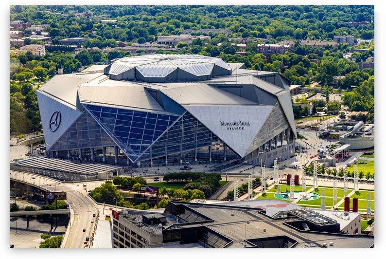 Mercedes Benz Stadium Aerial View   Atlanta GA 6980 by @ThePhotourist