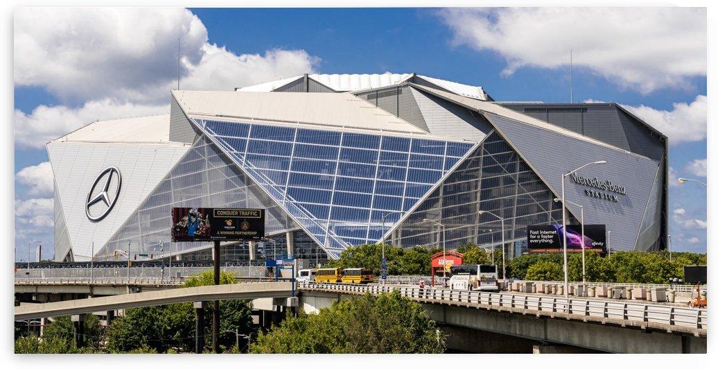 Mercedes Benz Stadium Aerial View   Atlanta GA 8555 by @ThePhotourist