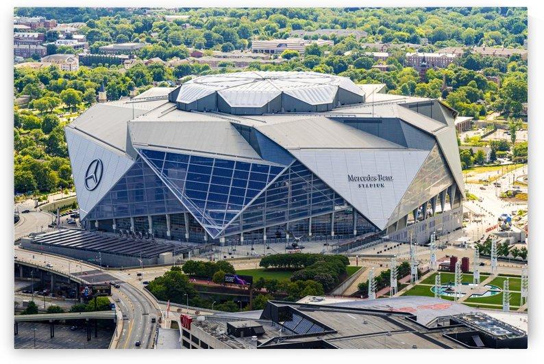 Mercedes Benz Stadium Aerial View   Atlanta GA 6860 by @ThePhotourist