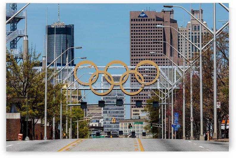 Olympic Rings and Cauldron   Atlanta GA 7412 by @ThePhotourist