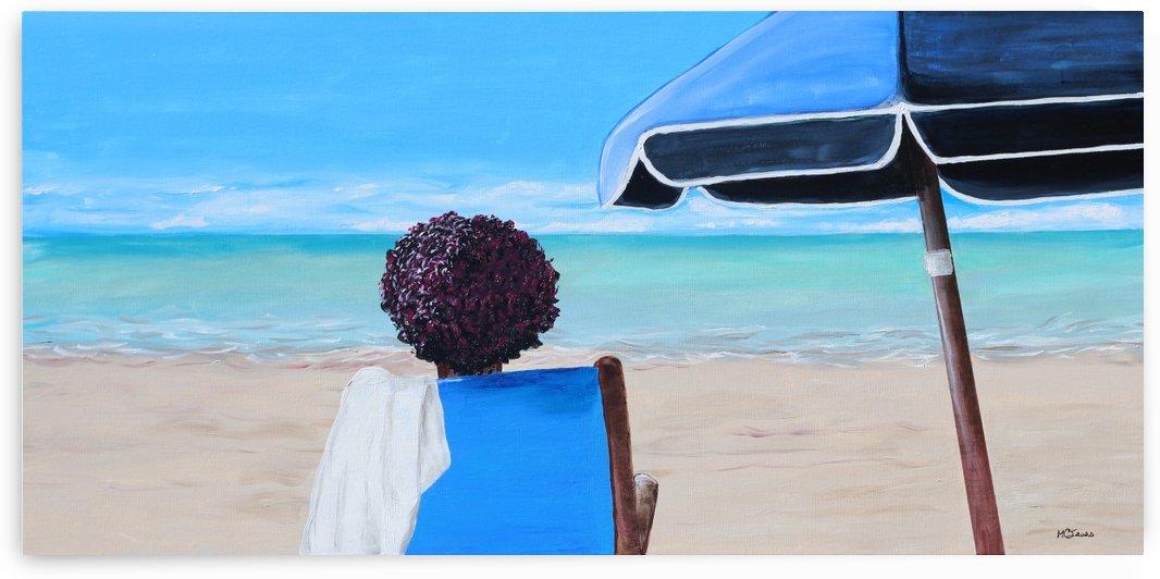 Chillin at Beach by MCJ