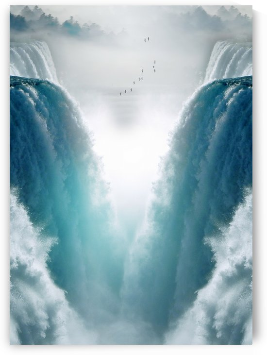 Journey to Waterfalls Land by Artistic Paradigms