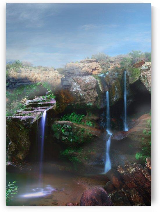 Lost Atlantis Waterfalls by Artistic Paradigms