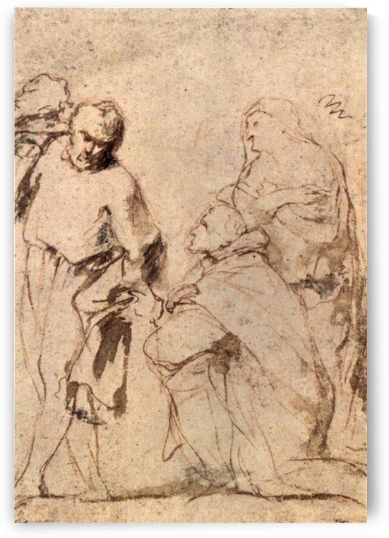 Figure Study by Rubens by Rubens