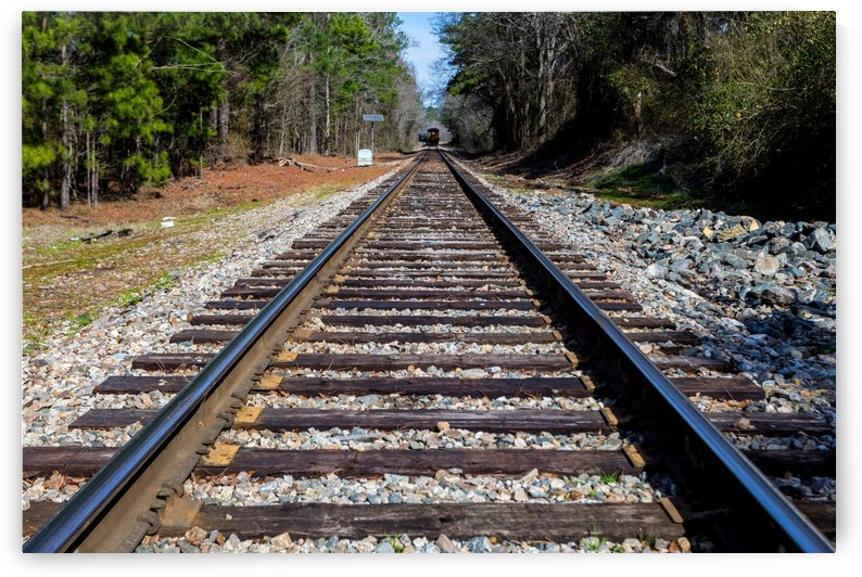 Train Tracks in Columbia County GA 9534 by @ThePhotourist