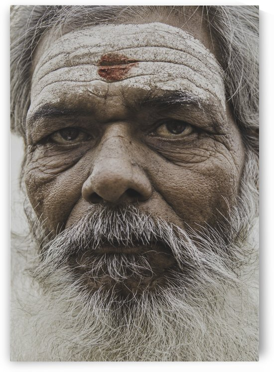 The Holy Man of Varanasi by Sebastian Dietl