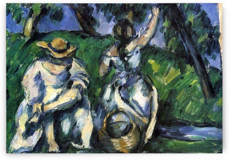 Figures by Cezanne by Cezanne
