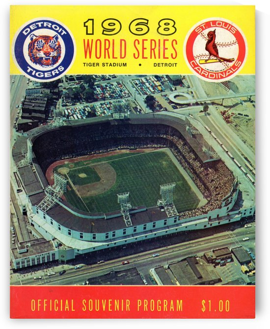 1968 World Series Program by Row One Brand