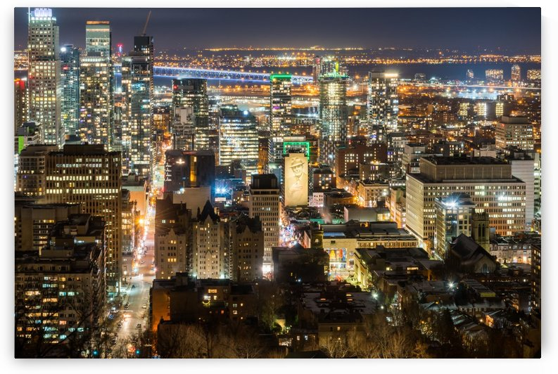 Downtown Montreal Canada by RezieMart