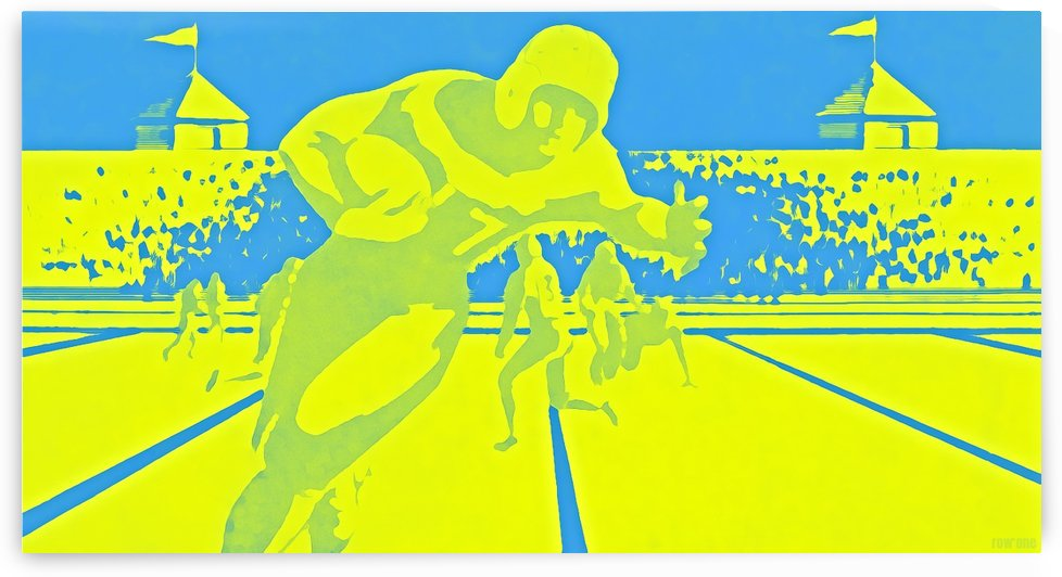 Football Art_Football Posters_Best Football Posters_Fine Art by Row One Brand