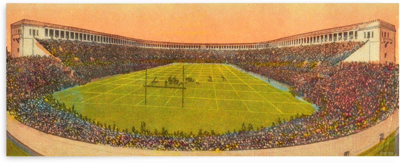 Vintage Football Stadium Art (1919) by Row One Brand