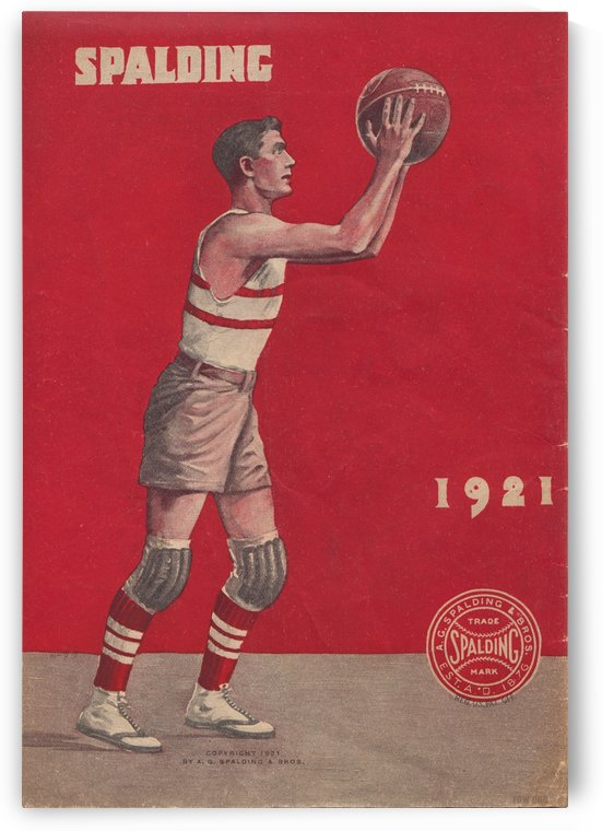 1921 Spalding Basketball by Row One Brand