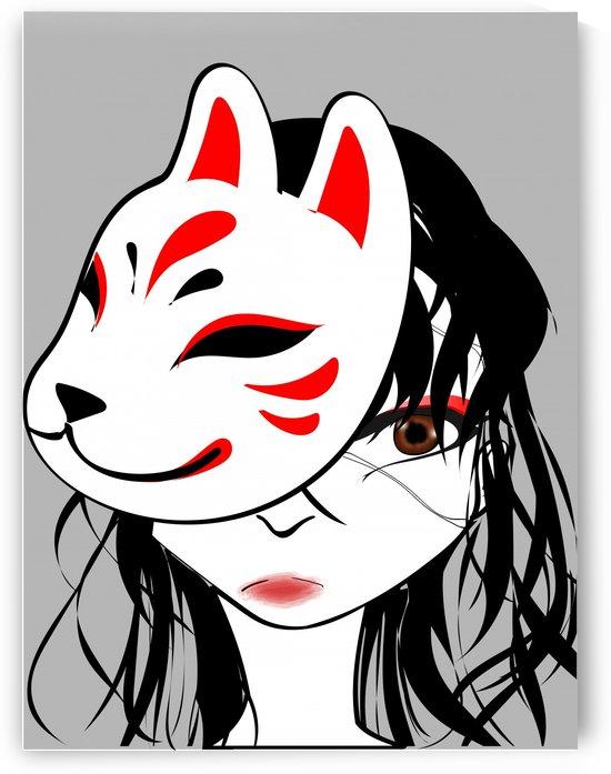 kitsune mask by Chino20