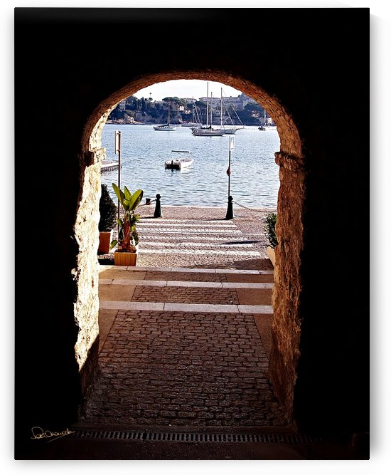 Villefranche Harbor View by Shadow and Form